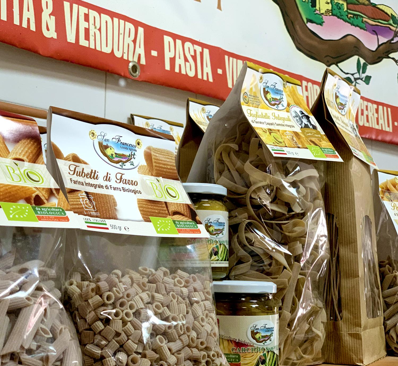 Vendita PRODOTTI BIOLOGICI online Azienda Agricola Biologica San Francesco, La Pasta