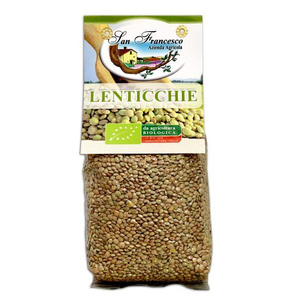 Lenticchie verdi bio | Azienda Agricola San Francesco | Negozio Bio online