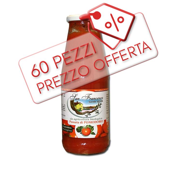 Offerta Passata di Pomodoro Bio da 690 gr. ( 5 cartoni da 12pz. 60pz. )