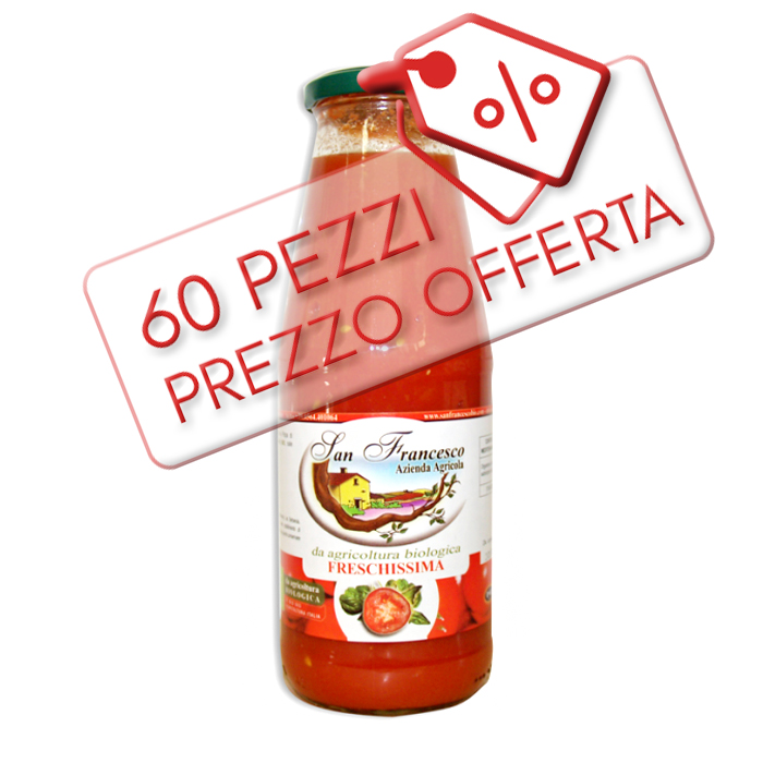 Offerta Polpa di Pomodoro BIO | Azienda San Francesco - Toscana