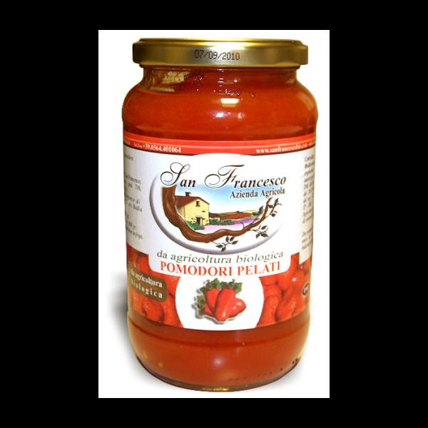 Pomodori Pelati BIO - Vendita prodotti biologici online Azienda San Francesco BIO