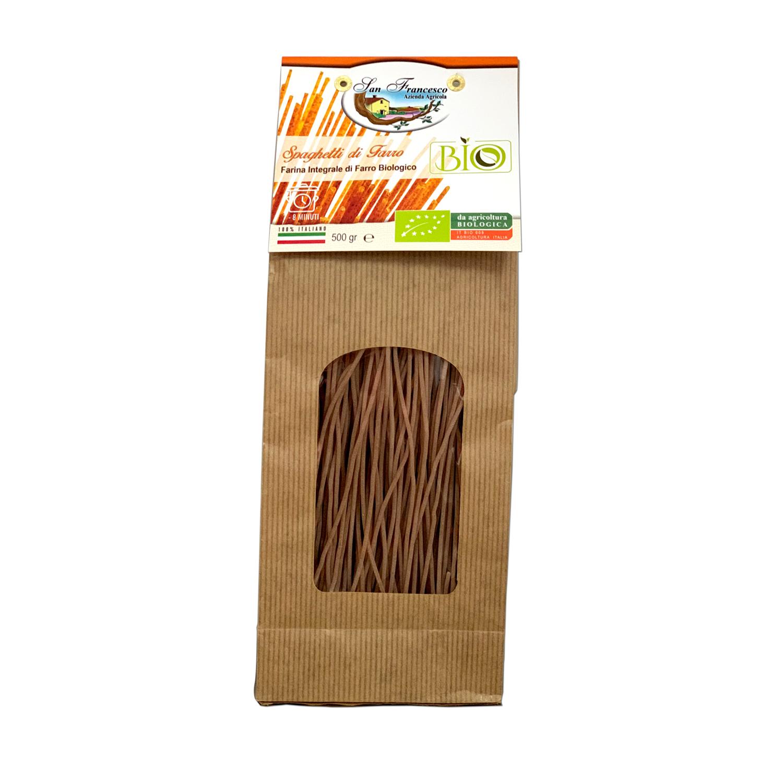Spaghetti Integrali di Farro Biologico