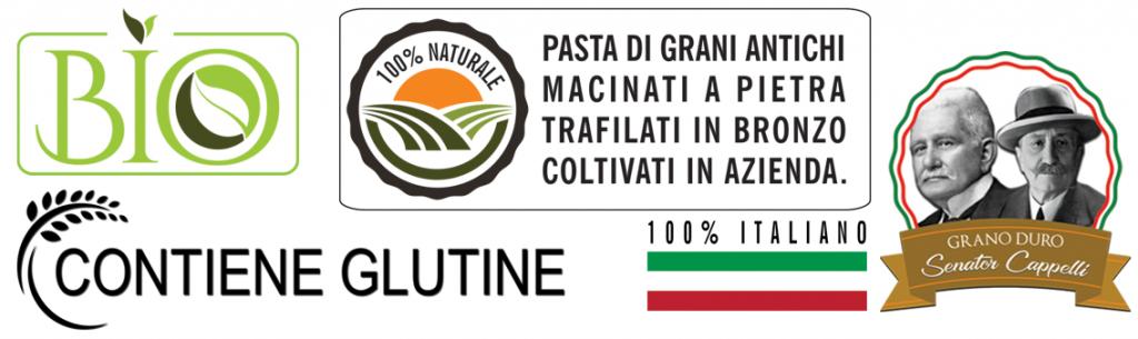 Marchi per la Pasta Senator Cappelli e prodotti biologici in vendita nello shop online dell'azienda San Francesco Bio in Maremma Toscana