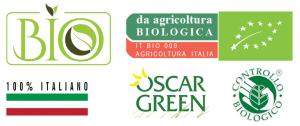 Marchi per prodotti biologici in vendita nello shop online dell'azienda San Francesco Bio in Maremma Toscana