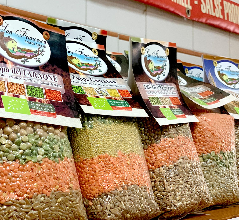 Vendita prodotti biologici online Zuppe di cereali e legumi bio San Francesco BIO