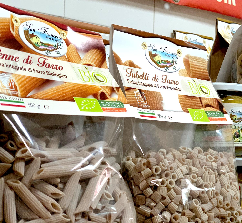Vendita prodotti biologici online Pasta di farro San Francesco BIO
