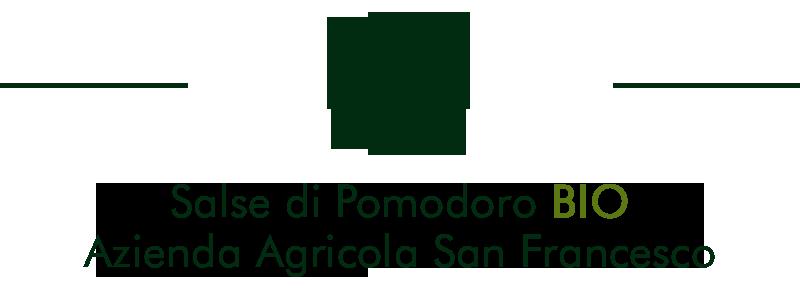 Titolo per Negozio Bio online | Salse di Pomodoro Bio | Azienda Biologica San Francesco