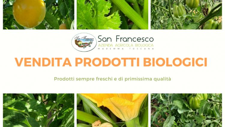vendita di prodotti biologici san francesco bio